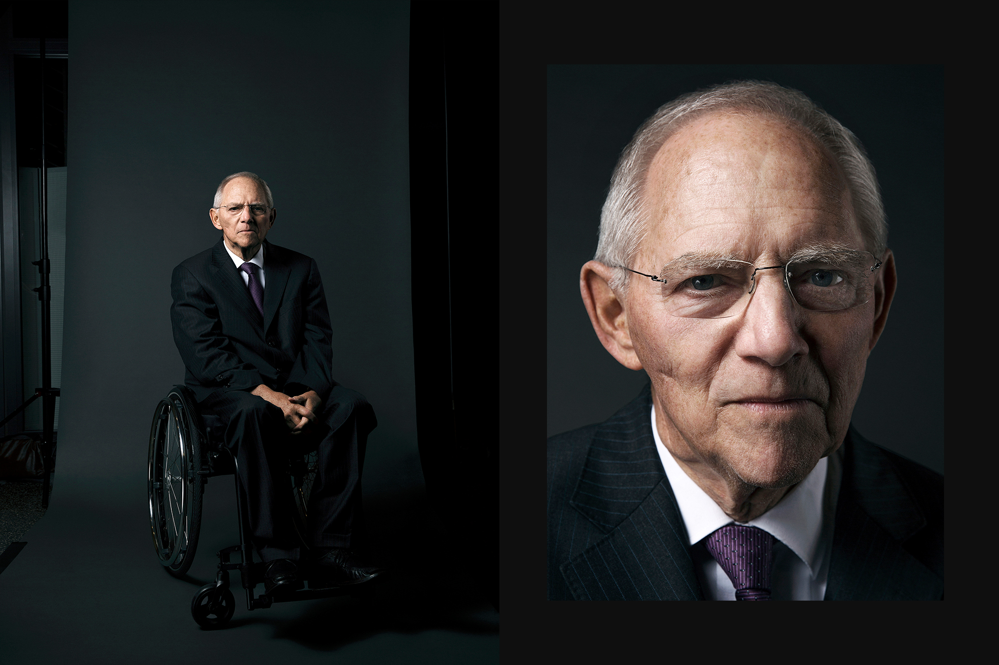 dr wolfgang schaeuble photographed by max baier and arian henning