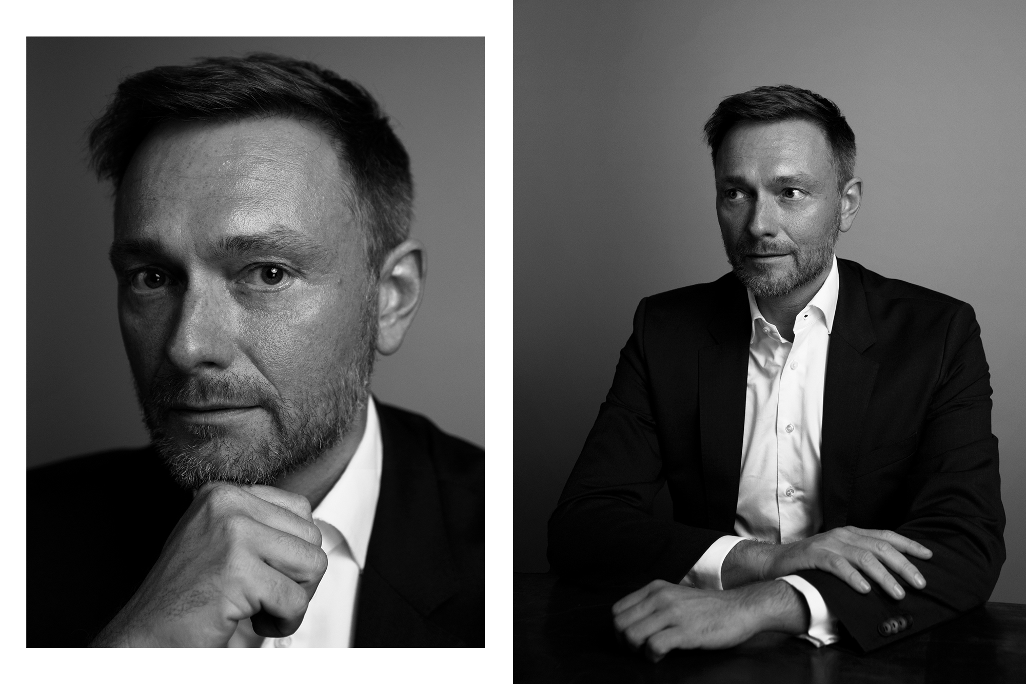 Christian Lindner, german politician, member of the Bundestag and leader of the liberal Free Democratic Party of Germany (FDP) photographed by Maximilian Baier